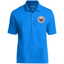 Load image into Gallery viewer, JC's British silver embroidered logo K110 Dry Zone UV Micro-Mesh Polo
