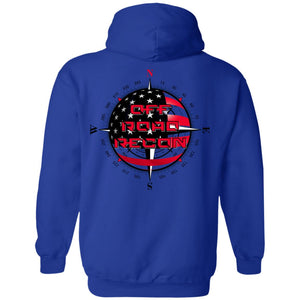 Off-Road Recon 2-sided print G185 Gildan Pullover Hoodie 8 oz.