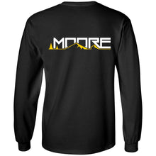 Load image into Gallery viewer, MOORE 2-sided print G240 Gildan LS Ultra Cotton T-Shirt