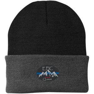 EPIC 4x4 Quest embroidered logo CP90 Port Authority Knit Cap