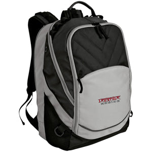 Dark Side Racing red. black & silver embroidered BG100 Port Authority Laptop Computer Backpack
