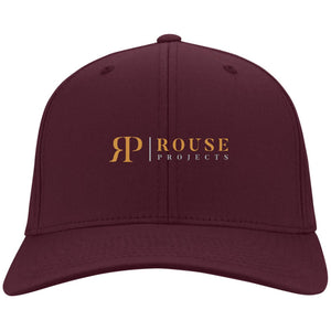 Rouse Projects - Gold & Silver embroidered C813 Port Authority Flex Fit Twill Baseball Cap