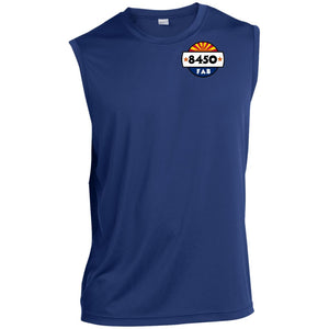 8450 Fabrication 2-sided print ST352 Sleeveless Performance T-Shirt