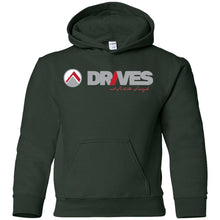 Load image into Gallery viewer, Drives light logo G185B Gildan Youth Pullover Hoodie