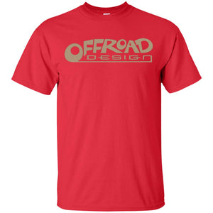 Offroad Design beige logo G200B Gildan Youth Ultra Cotton T-Shirt