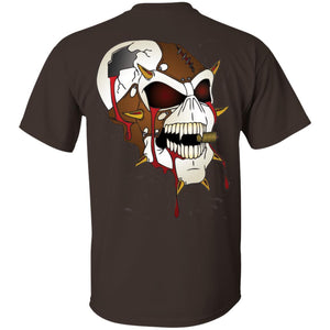 Dark Side Racing 2-sided print w/ skull on back G200 Gildan Ultra Cotton T-Shirt