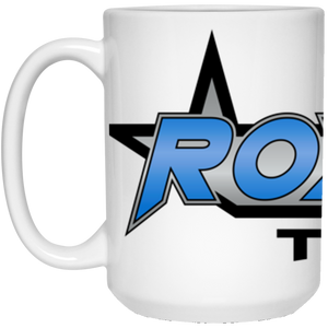 Roxtar Trux full wrap around logo 21504 15 oz. White Mug