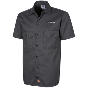 Revolution embroidered 1574 Dickies Men's Short Sleeve Workshirt