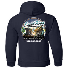 Load image into Gallery viewer, LEAD DOG 2-sided print G185B Gildan Youth Pullover Hoodie