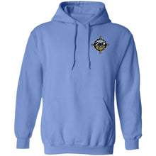 Load image into Gallery viewer, Rio Rancho Off Road 2-sided print G185 Gildan Pullover Hoodie 8 oz.