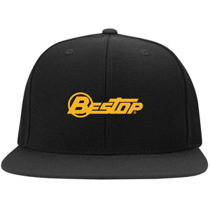 Bestop Embroidered Flat Bill Snapback Hat