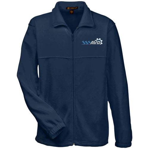 AVD embroidered logo M990 Harriton Fleece Full-Zip