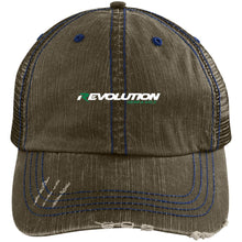 Load image into Gallery viewer, Revolution embroidered 6990 Distressed Unstructured Trucker Cap
