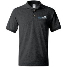 Load image into Gallery viewer, AVD embroidered logo G880 Gildan Jersey Polo Shirt