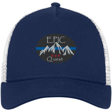Load image into Gallery viewer, EPIC 4x4 Quest embroidered logo NE205 New Era® Snapback Trucker Cap