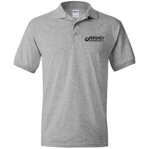 Offroad Design embroidered logo G880 Gildan Jersey Polo Shirt
