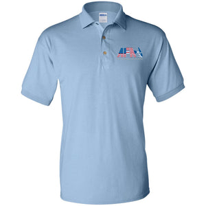 AFA embroidered logo G880 Gildan Jersey Polo Shirt