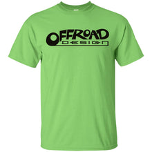 Load image into Gallery viewer, Offroad Design black logo G200B Gildan Youth Ultra Cotton T-Shirt