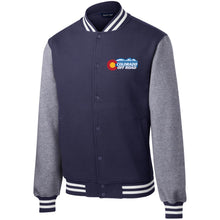Load image into Gallery viewer, Colorado Off Road embroidered logo ST270 Sport-Tek Fleece Letterman Jacket