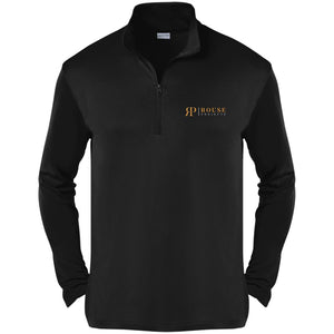 Rouse Projects - Gold & Silver embroidered ST357 Sport-Tek Competitor 1/4-Zip Pullover