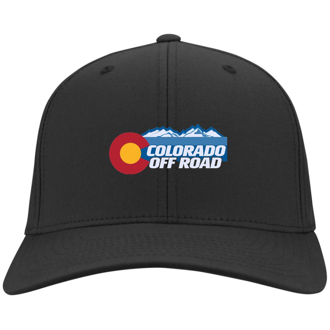 Colorado Off Road embroidered logo C813 Port Authority Flex Fit Twill Baseball Cap