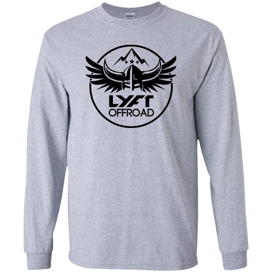 Lyft Off Road G240B Gildan Youth LS T-Shirt