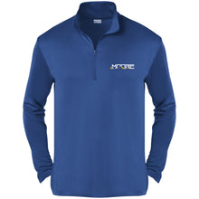 Load image into Gallery viewer, MOORE embroidered logo ST357 Sport-Tek Competitor 1/4-Zip Pullover