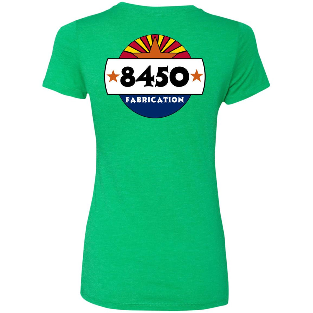 8450 Fab back logo only NL6710 Ladies' Triblend T-Shirt