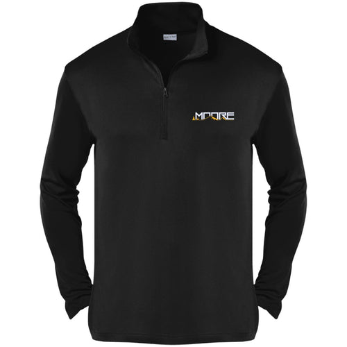MOORE embroidered logo ST357 Sport-Tek Competitor 1/4-Zip Pullover