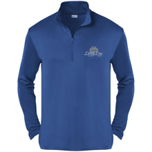 Load image into Gallery viewer, Dusty Dog silver embroidered logo ST357 Sport-Tek Competitor 1/4-Zip Pullover