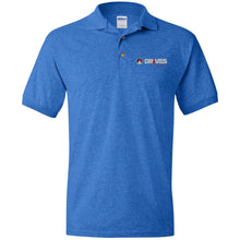 Load image into Gallery viewer, Drives at Mile High embroidered logo G880 Gildan Jersey Polo Shirt