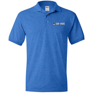 Drives at Mile High embroidered logo G880 Gildan Jersey Polo Shirt