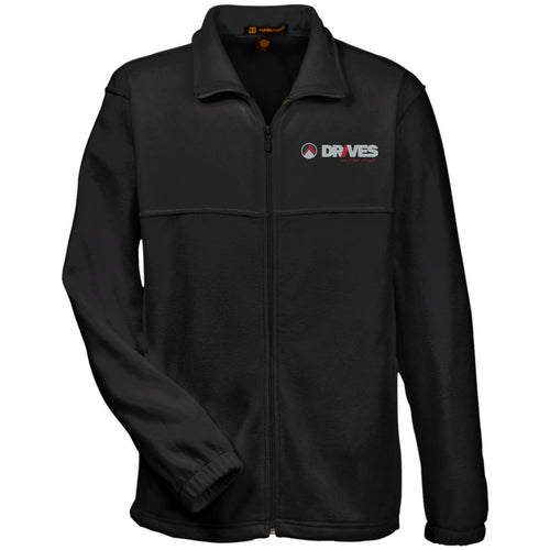 Drives at Mile High embroidered logo M990 Harriton Fleece Full-Zip