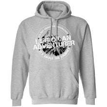 Load image into Gallery viewer, Life of an Adventurer G185 Gildan Pullover Hoodie 8 oz.