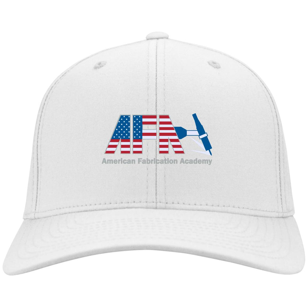 AFA embroidered logo C813 Port Authority Flex Fit Twill Baseball Cap