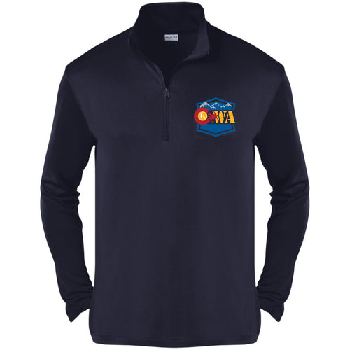 CWA embroidered logo ST357 Sport-Tek Competitor 1/4-Zip Pullover