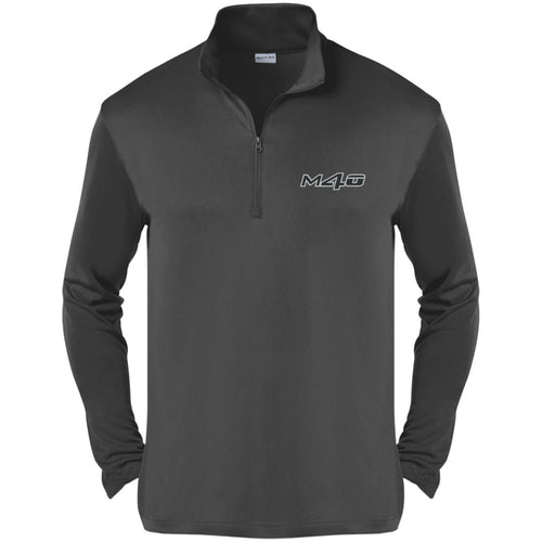 M4O embroidered logo ST357 Sport-Tek Competitor 1/4-Zip Pullover