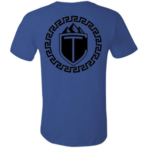 Conquered Trails CameWheeledConquered 3001C Bella + Canvas Unisex Jersey Short-Sleeve T-Shirt