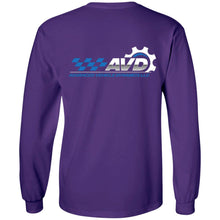 Load image into Gallery viewer, AVD 2-sided print G240 Gildan LS Ultra Cotton T-Shirt