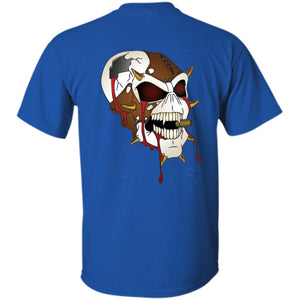 Dark Side Racing 2-sided print w/ skull on back G200B Gildan Youth Ultra Cotton T-Shirt
