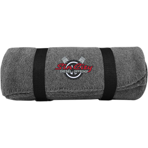 Sin City embroidered BP10 Port & Co. Fleece Blanket