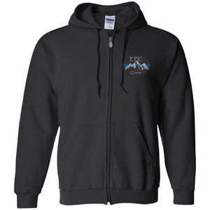 EPIC 4x4 Quest embroidered logo G186 Gildan Zip Up Hooded Sweatshirt