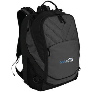 AVD embroidered logo BG100 Port Authority Laptop Computer Backpack