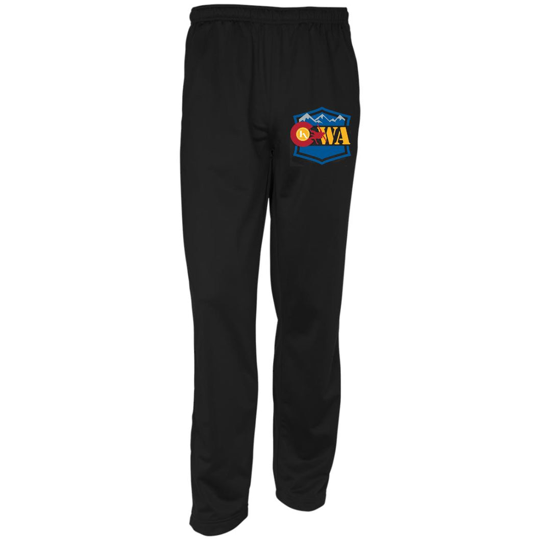 CWA embroidered logo YPST91 Sport-Tek Youth Warm-Up Track Pants