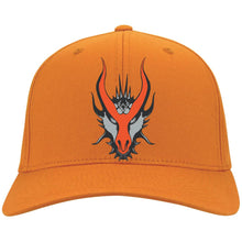 Load image into Gallery viewer, HYDRA Offroad silver embroidered logo C813 Port Authority Flex Fit Twill Baseball Cap