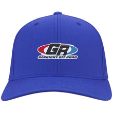 Load image into Gallery viewer, GenRight embroidered logo C813 Port Authority Flex Fit Twill Baseball Cap