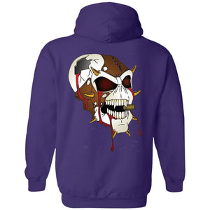 Dark Side Racing 2-sided print w/ skull on back G185 Gildan Pullover Hoodie 8 oz.