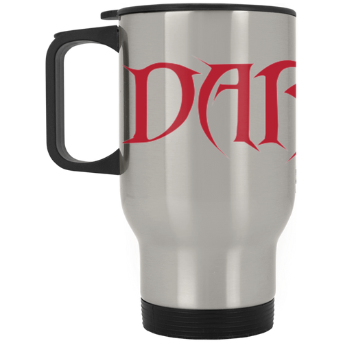 Dark Side Racing full wrap around logo XP8400S Silver Stainless Travel Mug