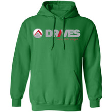 Load image into Gallery viewer, Drives light logo G185 Gildan Pullover Hoodie 8 oz.