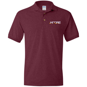 MOORE embroidered logo G880 Gildan Jersey Polo Shirt